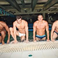 sports Fine shower water golden