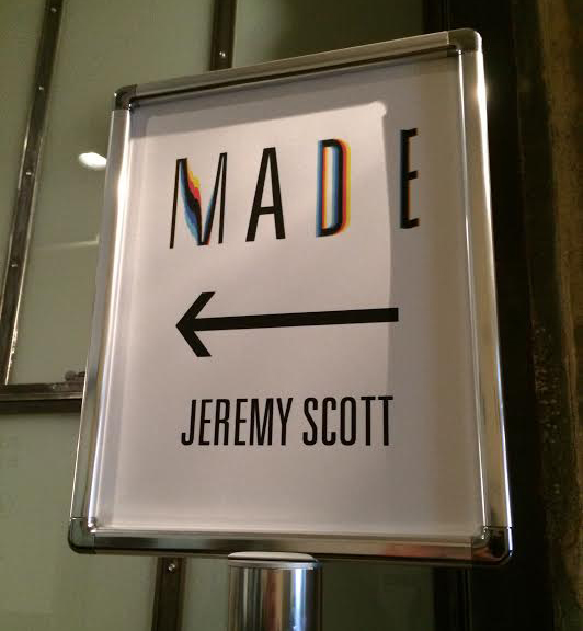 Jeremy Scott sign